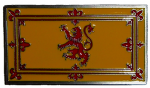 Lion Rampant Scottish Flag Scotland Belt Buckle with display stand. Product Code: BB8